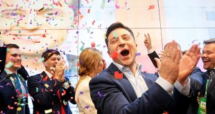 Zelenskiy obtuvo un triunfo contundente en las elecciones presidenciales de Ucrania