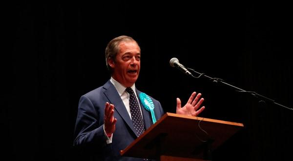 Neil Farage, del Partido del Brexit, ha sido el gran vencedor luego de las elecciones europeas.