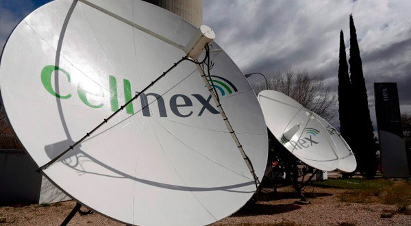Antenas de Cellnex en Madrid.