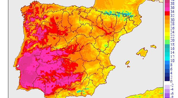 Los pronósticos meteorológicos de la AEMET indican que a partir de este fin de semana se experimentará una severa ola de calor en España y en Europa en general.