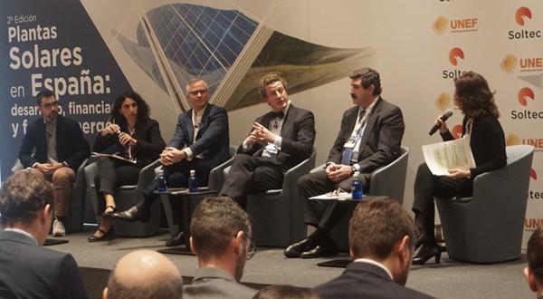 En el evento, organizado por Soltec y UNEF, participaron empresas líderes como Iberdrola, Enel Green Power, EDP Renovables o Naturgy que ofrecieron la perspectiva de los desarrolladores energéticos en España.