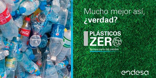 """Con el Programa """"Plásticos ZERO"""", Endesa ayuda a cambiar el rostro del planeta"""
