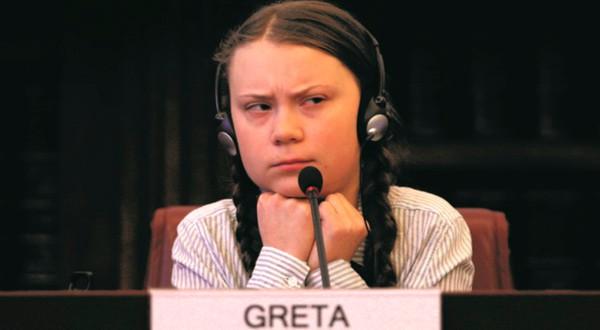 Greta Thunberg ha logrado llevar la protesta a los grandes foros del mundo.