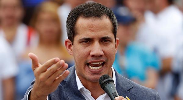 Juan Guaidó instó a los manifestantes de la oposición a no caer en provocaciones durante la jornada de protestas de este sábado.