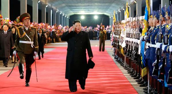 Kim Jong Un vuelve a su país tras una visita a Rusia.