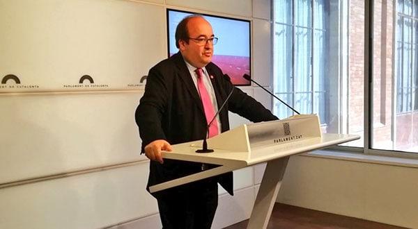 Según Iceta, el veto a su designación enrarecerá el clima parlamentario y tendrá sus consecuencias.