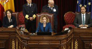 Mientras la presidenta del Congreso Batet plantea sus dudas al Supremo, la Fiscalía le solicita la suspensión inmediata de los diputados independentistas catalanes presos y encausados en el procés.