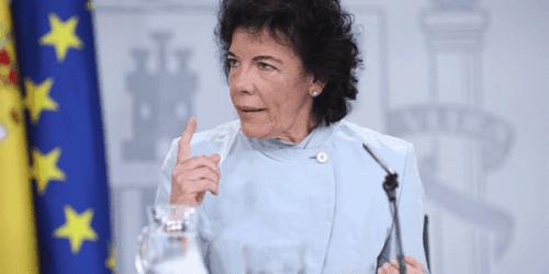 La ministra Isabel Celaá reveló que el PSOE ha convenido en llegar a acuerdos para la investidura con Unidas Podemos y descartó un supuesto descontento con ERC.