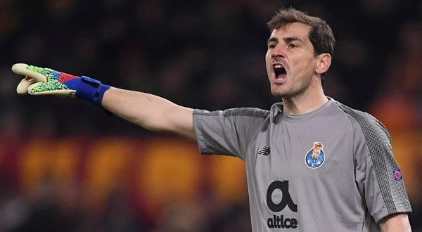 Iker Casillas, de 37 años, portero del Oporto