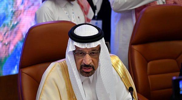 El ministro de Energía saudí, Khalid al-Falih, en la reunión del grupo OPEP+ en Yeda, comentó que la situación del mercado petrolero global en cuanto a producción e inventarios es brumosa.