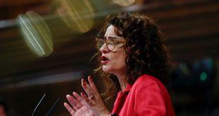 """La ministra de Hacienda de España, María Jesús Montero, refrenda la carta en la que se expresa que la UE debería aprovechar las negociaciones del presupuesto a largo plazo para abrir un """"debate apropiado"""" sobre la tasa transfronteriza."""