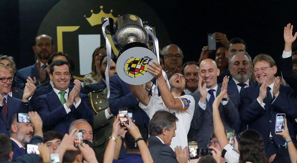 valencia es el campeón de la copa del rey