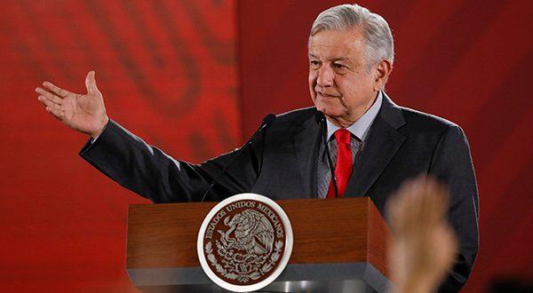 México respondería con aranceles a exportaciones de Estados Unidos. Ya Trump había anunciado aranceles de un 5% a exportaciones mexicanas. En la imagen el presidente Andrés Manuel López Obrador