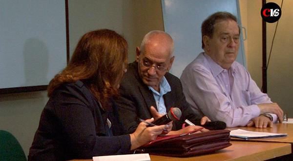 El premio Nobel Houcine Abassi expuso en Caracas las dificultades y logros de la transición política/Richard Gonzales