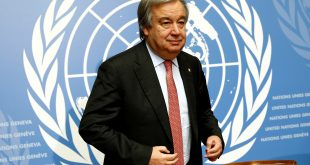 Antonio Guterres, secretario general de la ONU, hizo un llamado a la calma y al diálogo., a los dos países enfrentados por un dron