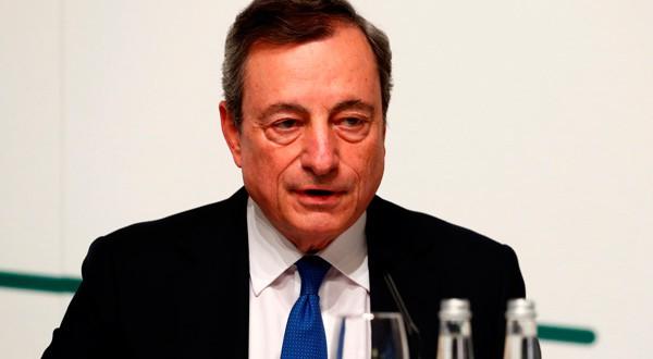 Mario Draghi fue criticado por Donald Trump.