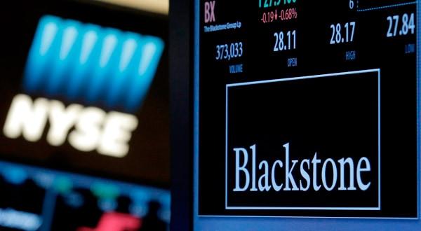La información sobre las operaciones de Blackstone Group se muestra en la Bolsa de Valores de Nueva York.