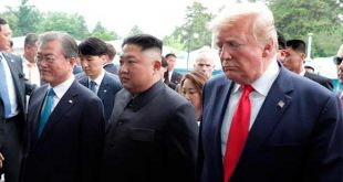 Donald Trump visita Corea del Norte