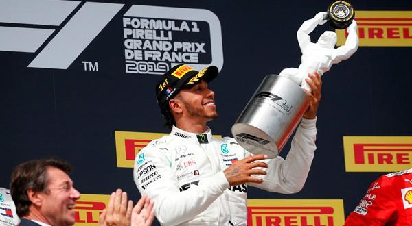 Lewis Hamilton ganó categóricamente en el GP de Francia.