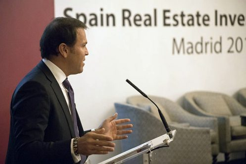 Jorge Neri en el Spain Real State Investment Forum.