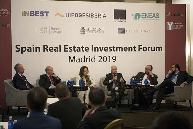 Un momento del Spain Real Estate Investment Forum Madrid 2019.