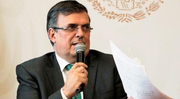 El canciller mexicano dio nuevos detalles sobre el plan migratorios acordado con EEUU.