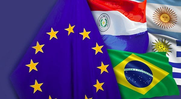 La UE y los países del Mercosur, Brasil, Argentina, Paraguay y Uruguay, cerraron un pacto inédito que beneficia ambos bloques