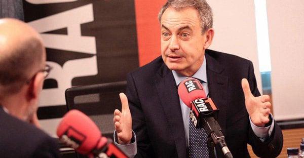 """Rodríguez Zapatero aboga por """"una relación renovada de lo que es Catalunya en el conjunto de la democracia española""""."""