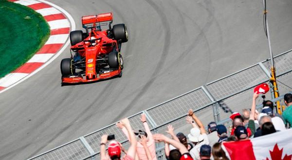 El Ferrari de Vettel ha dado la talla todo el fin de semana.