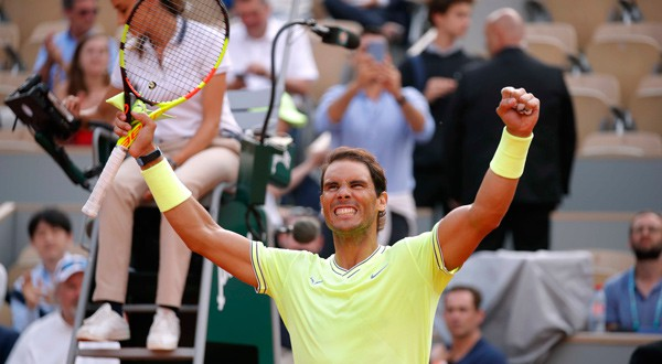Rafael Nadal jugará su duodécima semifinal de Roland Garros