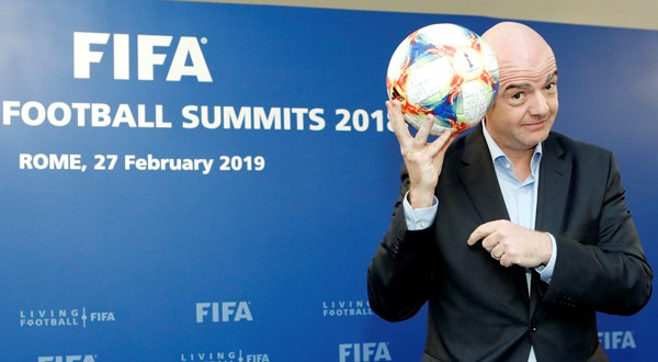 Infantino fue reelegido presidente de FIFA