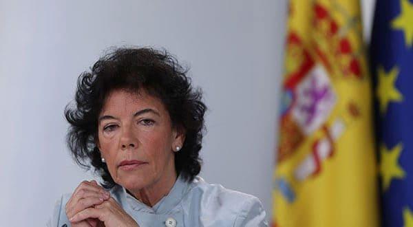 La ministra y vocera Isabel Celaá asegura que con el anuncio de este viernes, el gobierno cumple su compromiso sobre el tema salarial de los empleados públicos.