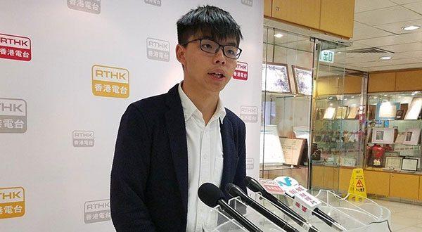 El activista Joshua Wong, líder de la Revolución de los Paraguas de 2014, salió en libertad y se sumó a las protestas en las calles de Hong Kong.