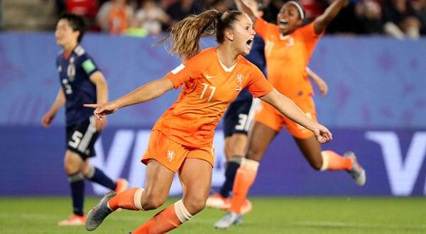 Lieke Martens suma su tercer gol en Mundiales