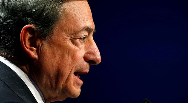 Según el presidente del BCE, Mario Draghi, el organismo tratará de dar un impulso a la alicaída economía de la zona euro.