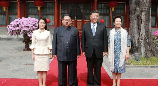 El encuentro entre los presidentes de Corea del Norte y China es una antesala de la reunión que pronto sostendrán los dignatarios chino Xi Jinping y el de EEUU Donald Trump en la cumbre del G20 en Japón.