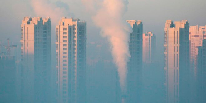 Emisiones de gases de efecto invernadero de China se dispararon 50% en el periodo 2005-2014