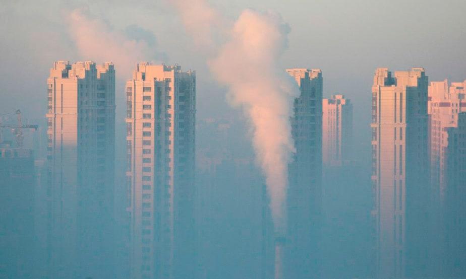 China ha elevado la emisión de gases tóxicos en los últimos años.