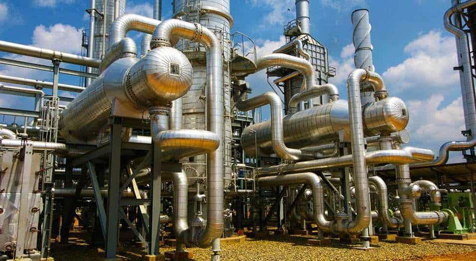 Bloque de gas Corridor