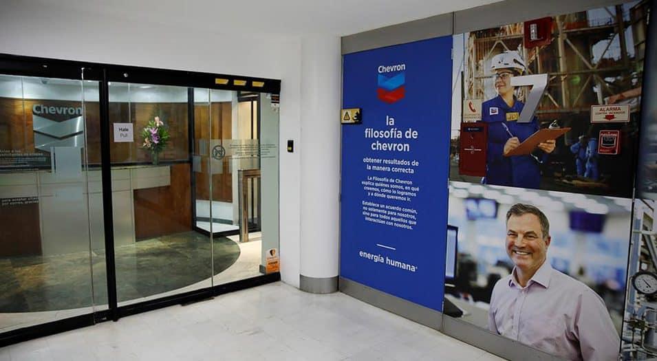 Extensión de licencia a Chevron