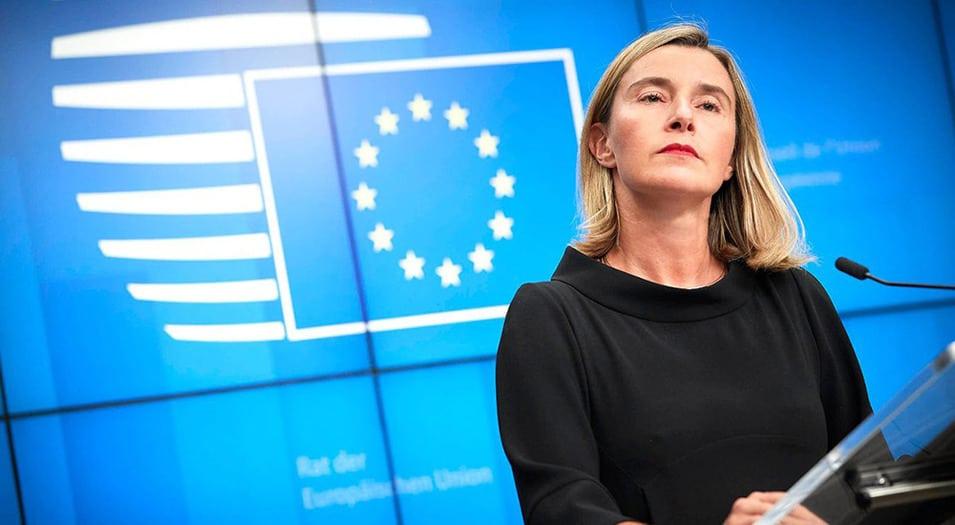 Federica Mogherini, alta representante de la Unión para Asuntos Exteriores, anunció la posición de la UE sobre Venezuela