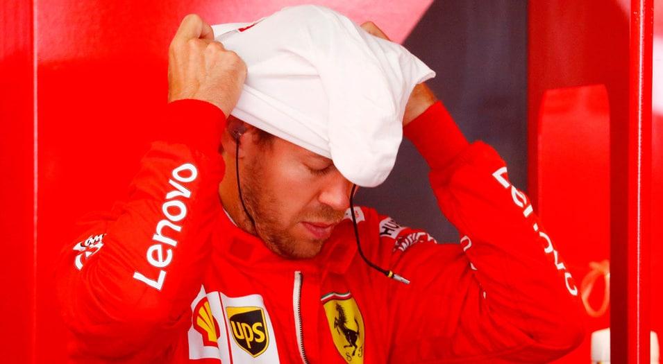 Vettel saldrá último tras sufrir problemas mecánicos.