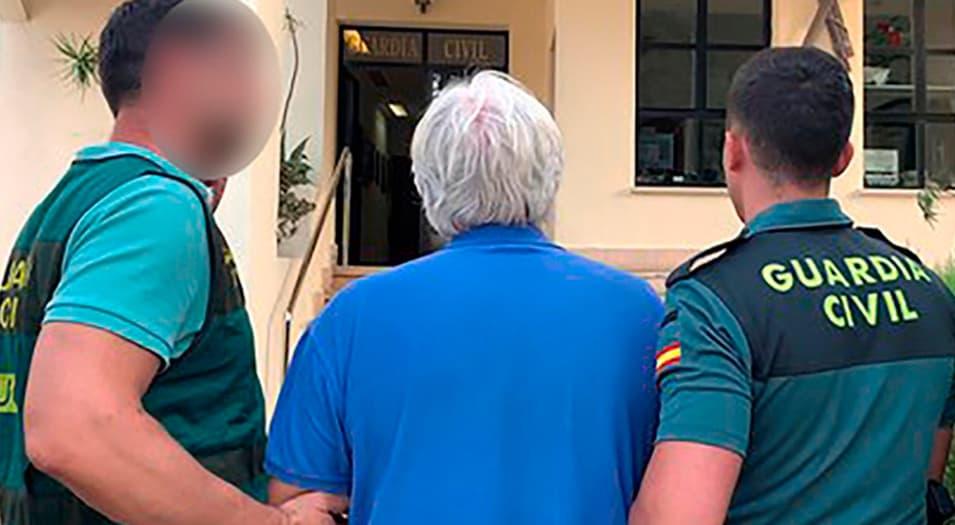 La detención por parte de la Guardia Civil se produjo por requerimiento de las autoridades francesas.