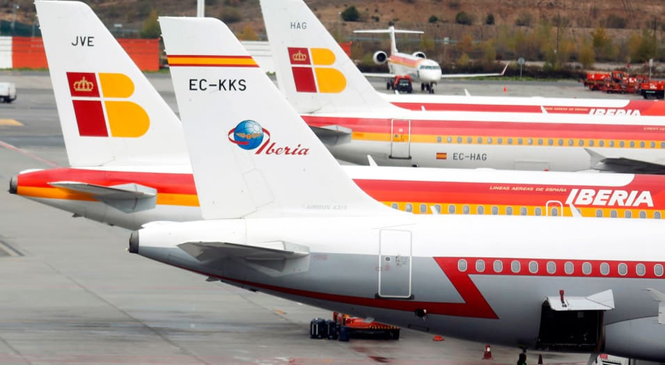 Iberia afirma que cantidad de vuelos afectados podría aumentar.