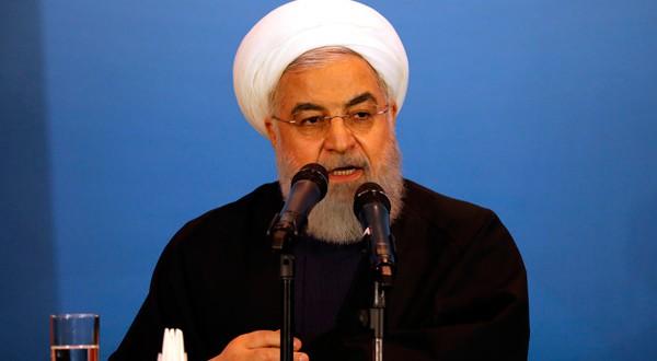 Hassan Rouhani, presidente de Irán, hizo oficial el rompimiento del pacto nuclear.