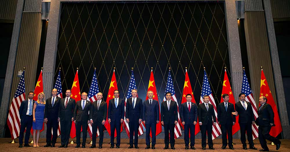 Negociaciones China Estados Unidos