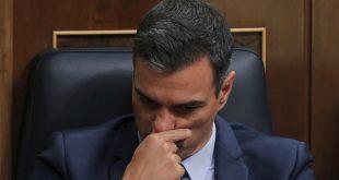 Pedro Sánchez, jefe de gobierno en funciones