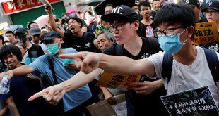 Unos 20 mil manifestantes volvieron a tomar las calles de Hong Kong
