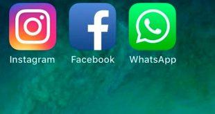 Redes sociales experimentan caídas