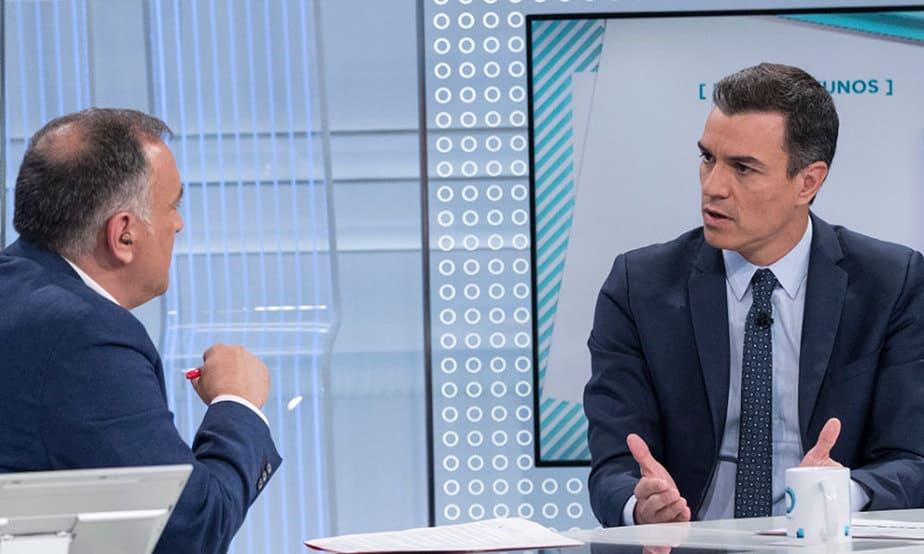 """Pedro Sánchez consideró que resulta evidente que se precisa disponer de un mecanismo que """"impida coaliciones negativas que puedan abocar a la repetición sistemática electoral""""."""
